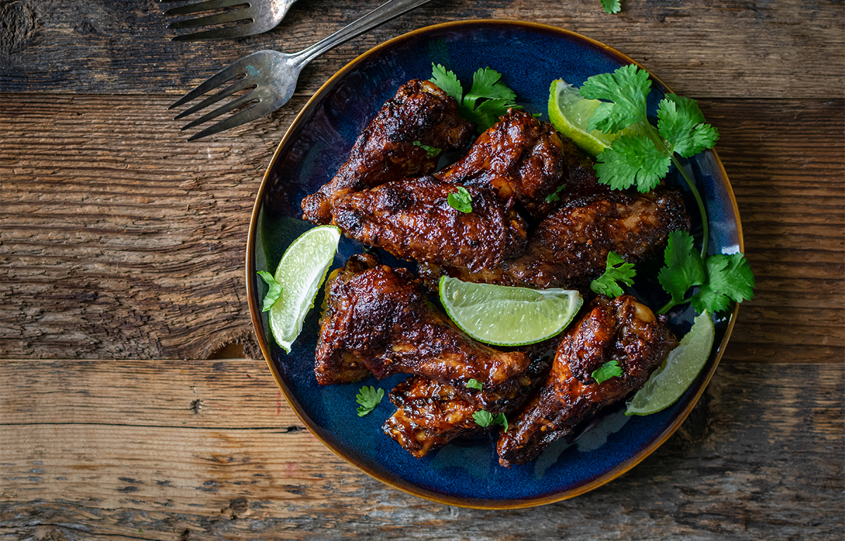 Tamarind Chicken Wings