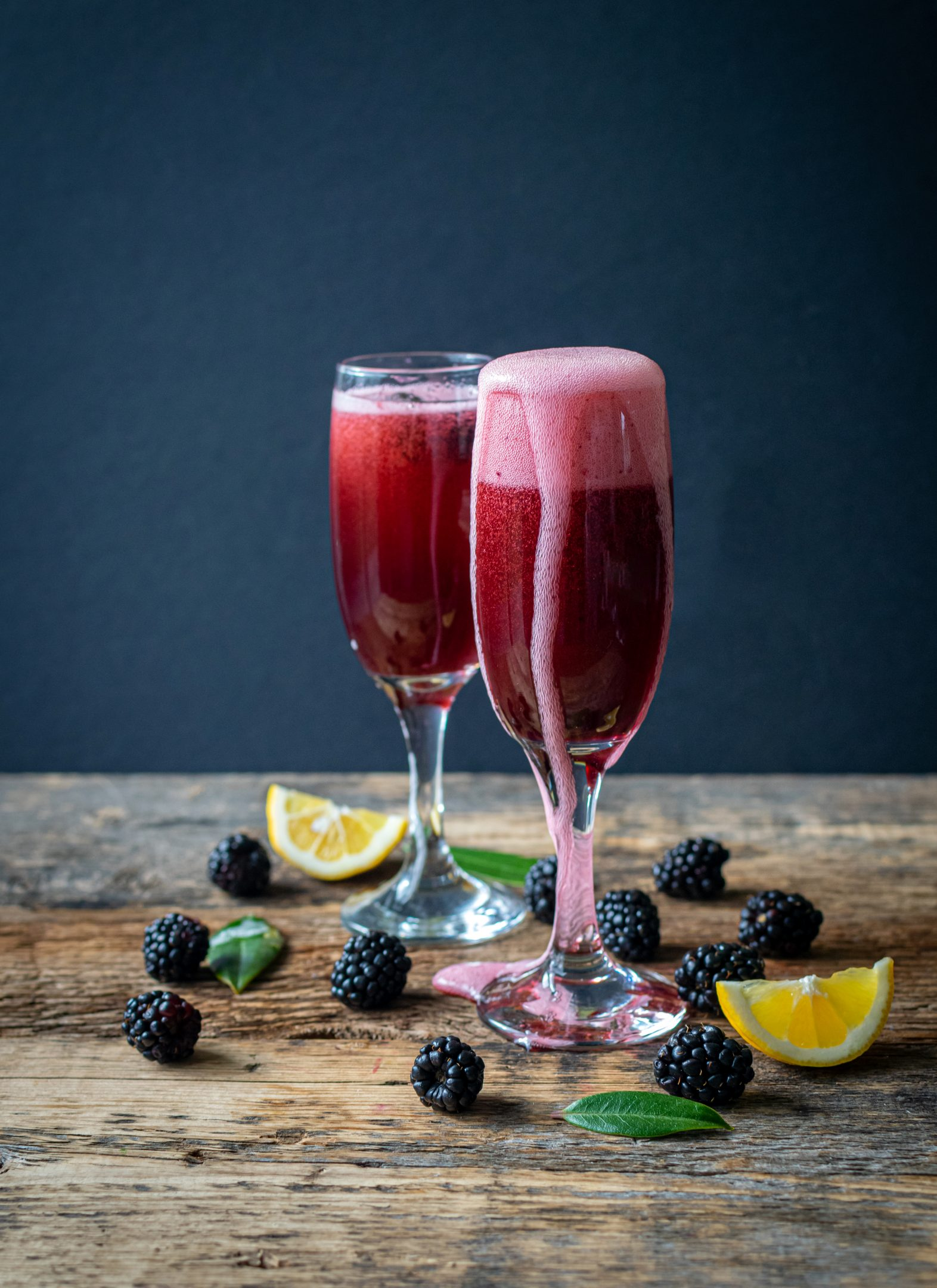 Blackberry Mimosa